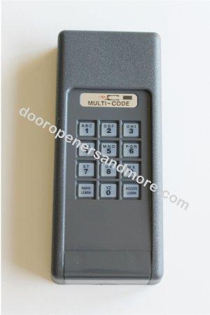 Multi Code 4200 Wireless  Garage Door / Gate Opener Keypad 300 MHz  - Multi Code 4200-01