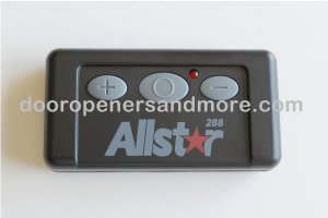 Allstar 111025  3-Button Quik-Code Garage Door Remote 288 MHz - Allister / Pulsar Comp 190-111025