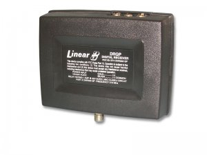 Linear DRQP Delta 3 Singe Channel 24 volt Receiver with High Gain Antenna