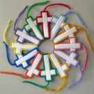 Christian Cross Decoration for Christmas or Easter