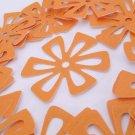 Flower Die Cuts in Glorious Goldenrod