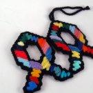 Rainbow Fish Christmas or Easter Ornament