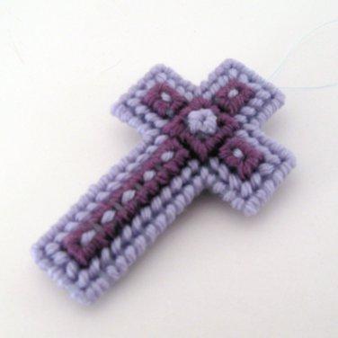 Nine Star Christian Easter Cross Ornament baptism gift