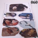 Handmade Insect Bug Bird Gift Tag Set