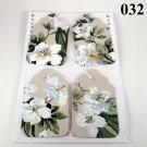 Handmade Flower Gift Tag Set
