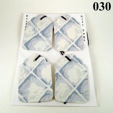 Handmade Designer Wallpaper Gift Tag Set