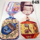 Handmade Hanukkah Gift Tag Set