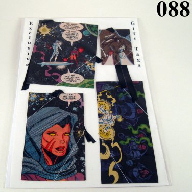 Handmade Gift Tags of Interesting Prints video games