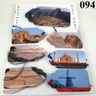 Skateboarding Gift Tag Set vacation spots