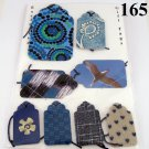 Handmade Gift Tag Set Blue Purple Variety Pack