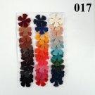 Vinyl Die Cut 5 petal Flowers