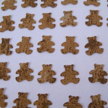 Brown Bear Die Cut Wallpaper Recycled