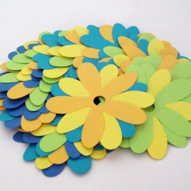 10 Colorful Recycled Paper Flowers for Crafting