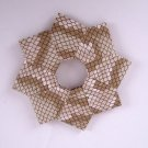 Origami Wreath Snake Skin Wallpaper Ornament