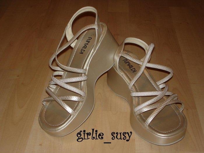 Open-toe Platform Wedge Shoes Sandals NEW Size 7 *PLUS BONUS CASH BACK!*