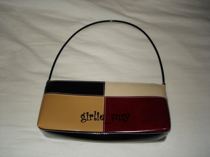 Multi-Color Slim Purse Evening Handbag Bag