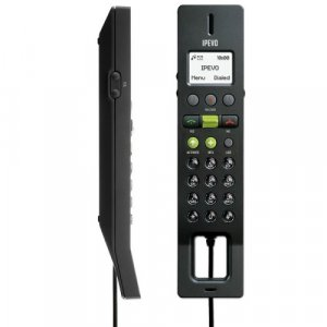 Ipevo Free 2 Black - Best USB Skype Phone With LCD For Voip - Black FR-33.2 - USED