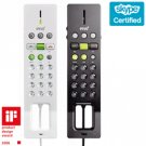 Ipevo FR-33.1 - USB Corded Skype Phones - Sharing Pack (2x Double Black+White)