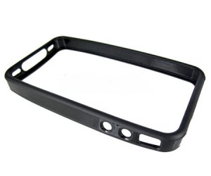iPhone 4 Antenna Case / Bumper / Cover - Reception Fix - Black TPU