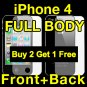 iPhone 4 Screen Film - Full Body Shield / Guard / Protector / Cover / Skin