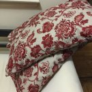 red multi handmade decorative pillow cases/shams