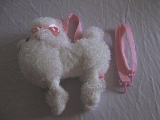 Angelic Pretty Poodle Purse White