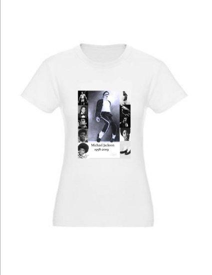 Michael Jackson Memorial T-shirt Women's