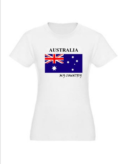 "My Country Patriotic T-shirts ""Australia"""