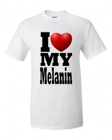 I Heart My Melanin tee 2XL and Up