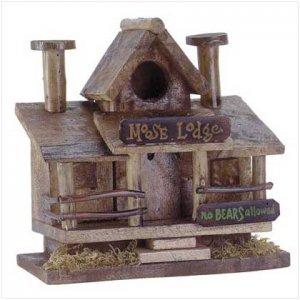 Moose Lodge Birdhouse  30659