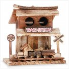 Train Station Birdhouse  30661