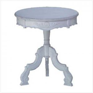 Romantic Rococo Accent Table  34708