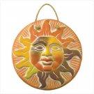 Terra Cotta Sun Face Plaque  37935