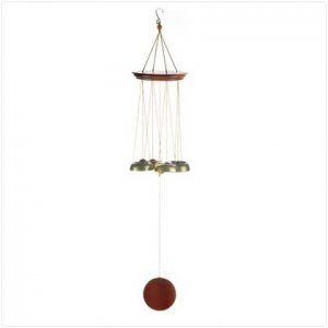 Wood Bell Windchimes  38087