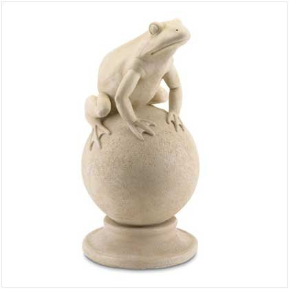 Polystone Frog  37630