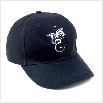 Black Dragon Logo Cap with LED Lights  38075