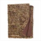 White Faux Fur Blanket (Full)  37034