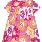 Baby LuLu 100% Cotton Dress Amaryllis Print Size 12M New NWT