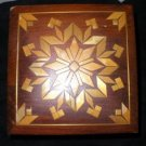 Vintage Handmade Wood Decorative Box