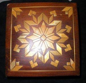Vintage Handmade Wood Decorative Box