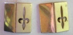 Unusual Vintage Swank FLEU DE LIS Men�s Cuff Links