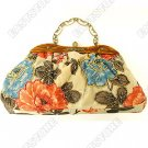 Chinese Hand Beaded Floral Handbag