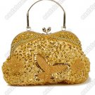 Beaded Butterfly Handbag