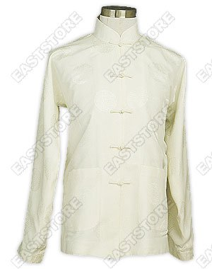 Mandarin Blessing Silk Man Shirt