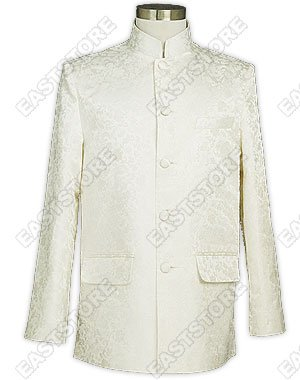 Men's Dragon Pattern Silk Brocade Jacket