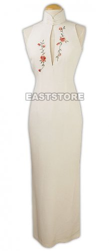 Floral Embroidery Enchant Dress