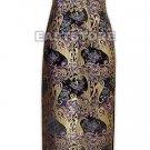 Floral Silk Brocade Dress