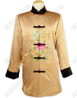 Splendid Embroidered Quilted Jacket