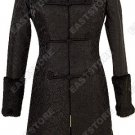 Fur-Decorated Dragon Brocade Coat(Quilted)
