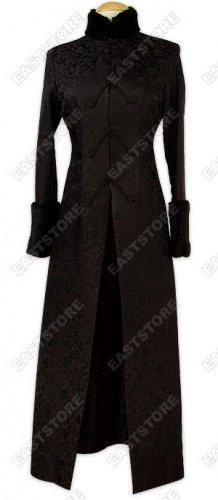 Faux Fur Dragon Brocade Coat